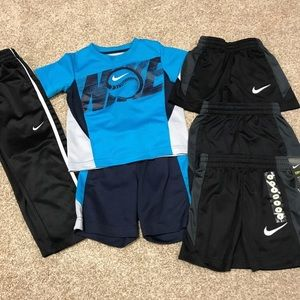Nike lot of boys toddler fits size 3t